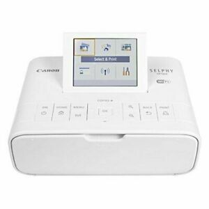 Canon SELPHY CP1300 Wireless Compact Photo Printer, AirPrint & Mopria Device WHT