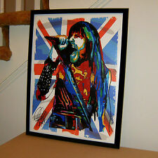 Bruce Dickinson, Iron Maiden, Vocals, Heavy Metal, Hard Rock, Music 18x24 POSTER