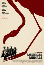 "American Animals ""B"" 13.5x20 Promotional Movie POSTER"