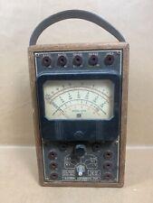 Emc Model 101b Volt Ohm Meter Electronic Measurements Corporation Untested