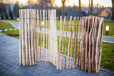 Staketenzaun Holzzaun Gartenzaun Zaunlatte imprägniert H: 150 cm x 3 m 3-4cm