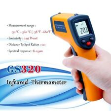 Thermometer Non Contact Digital Infrared Themperature Pyrometer Laser Point Gun