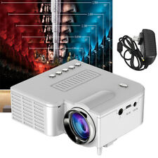 UC28B Portable Mini Multimedia LED Projector Home Theater Cinema TF USB TET LCD