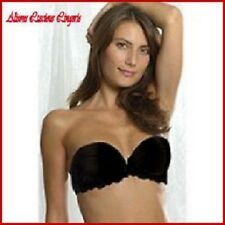 Splendour Black Push Up Strapless (For Dresses) Multi Bra 36C RRP £23