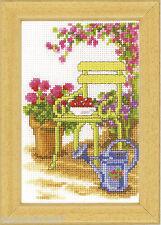 VERVACO  0003720  Chaise de Jardin  Broderie  Point de Croix  Compté