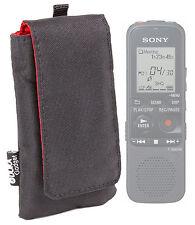 Étui en nylon noir pour Sony ICD-PX312D digital voice recorder
