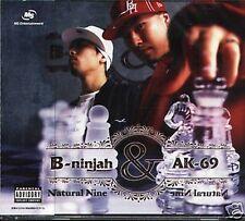 B-ninjah & AK-69 - Natural Nin - Japan CD - NEW - J-POP