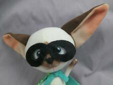 SKIPPYJON JONES THE CAT PLUSH DOLL TOY SIAMESE HERO  JUDITH BYRON  PLUSH STUFFED