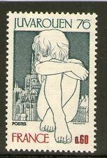 TIMBRE 1876 NEUF XX - EXPOSITION PHILATELIQUE MONDIALE DE LA JEUNESSE ROUEN 1976