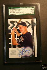 2002 Topps Finest #108 Jason Bay Rookie Autographed