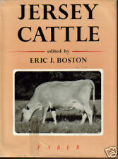 JERSEY CATTLE COW HISTORY BOOK BOSTON 1954