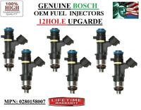 YRS 00-05 Ford Excursion 6.8L V10 GENUINE OEM Bosch REFURB 10pc Fuel Injectors
