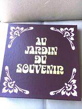 COFFRET COLLECTION 12 ALBUMS VINYLES 33 Tours AU JARDIN DU SOUVENIR