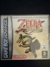 The Legend Of Zelda Minish Cap Nintendo Game Boy Advance GBA repro