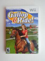 Gallop & Ride Game in Case! Nintendo Wii
