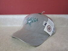 Vintage Adult Hat NHL Hockey NWT Dallas Stars Grey Official Sports Specialties