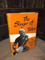 The Singer Of Tales By Albert B. Lord RARE OOP HC HARVARD 1964 POETRY