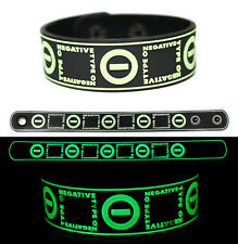TYPE O NEGATIVE Rubber Bracelet Wristband Glows in the Dark