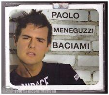 CDS PAOLO MENEGUZZI  - BACIAMI CDS PERFETTO COME NUOVO 2 TRACKS + VIDEOCLIP
