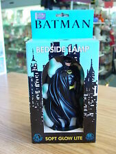 "VINTAGE BATMAN DARK KNIGHT DC COMIC NIGHT LIGHT LAMP 8"" TALL 1992 MINT IN BOX"