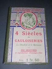 Costume Gauloiseries J. Grand-Carteret Le décolleté et le retroussé