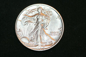 NICE! 1934-D Liberty Walking Half Dollar Choice UNC
