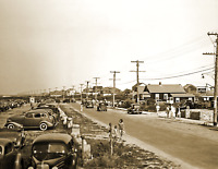 """1938 Atlantic Ave Westerly Rhode Island Old Vintage Photo 8.5"""" x 11"""" Reprint"""