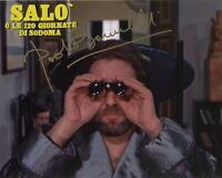 Paolo Bonacelli Foto Autografata Salò Pierpaolo Pasolini Autografo Signed Cinema