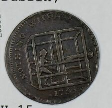 Great Britain 1795  1/2 Penny  Dublin DH-15 GR0227 combine shipping