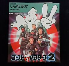 Ghostbusters 2 (II) - JAPAN VERSION - Nintendo Game Boy - RARE - BRAND NEW