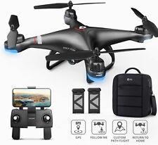 Holy Stone HS110G RC GPS Drohne 1080P Kamera HD Quadcopter FPV Drone mit 2 Akkus