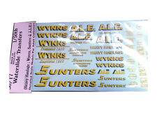 More details for wynns sunters ale 1:50 waterslide transfers 50-t7 colour o scale langley decals