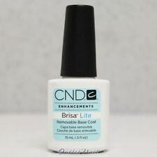 CND BRISA LITE Removable Sculpting Smoothing Gel  >> BASE COAT 0.5 oz 15ml
