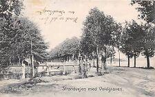 Fredericia Dinamarca Danemark Strandvejen M Voldgraven Tarjeta Postal c1907
