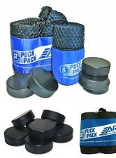 Sports Ice Hockey Pucks Pack Of 12 Roller Sporting Goods Durable In Mesh New