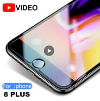 """✅2x PANZERFOLIE für iPhone 8 Plus 5,5"""" Gehärtetes Schutz Glas Optik Anti-Shock✅"""