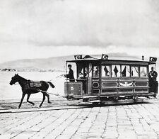1933/66 Vintage Smyrna HORSE TROLLEY Izmir Photo Art 16x20 By ALFRED EISENSTAEDT