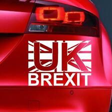 UK BREXIT Sticker Funny Car Van Bike Window JDM 4x4 Bumper Novelty Vinyl Decal