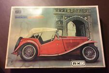 Gakken Riko Bandai Rare 1948 1/16th MG TC Midget Plastic Model Kit Sealed Bags.