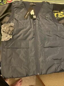 Global Vasion Heated Vest (Battery/Charger Included) Men's Size XL Navy