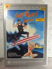 Surf Nazis Must Die DVD - R18+ RARE OOP - Ex Rental TROMA - CULT CLASSIC