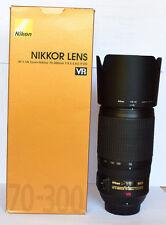 Nikon AF-S NIKKOR 70-300mm f/4.5-5.6G IF-ED VRII Lens. MINT. 6 Months Warranty.