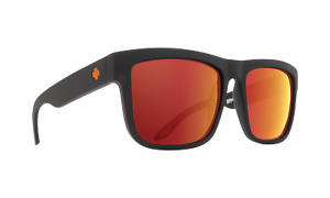 Spy DISCORD Dale Jr Matte Black w/ HD+ Orange Spectra Sunglasses