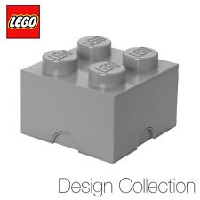 LEGO® Medium Storage Brick (4 Studs) -Design Collection- Stone Grey - Ex-Display