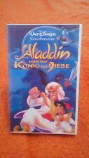 Aladdin und der König der Diebe - Disney VHS (Rarität Selten Sammlerstück) !!!