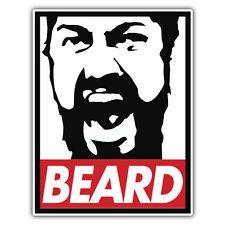 Barba 300 PEGATINA OBEDECER pegatina por el Sr.. oilcan 83 X 108mm