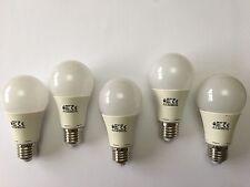 5 Pack de LED E27 ultra alta salida lámparas A60 6000K la luz del día