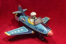 Old Vintage Antique Rare Airplane U.S.A.F XF-160 Aircraft Model Toy Decor PX-52