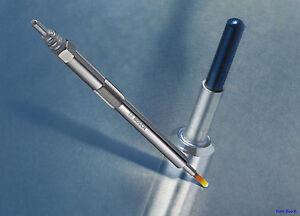 4 Glow Plugs Bosch Duraterm Peugeot 307 Break 1,6 HDI 0250204001