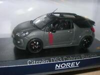 CITROEN DS3  CABRIO RACING 2014  NOREV 1/43 GRIS  MAT